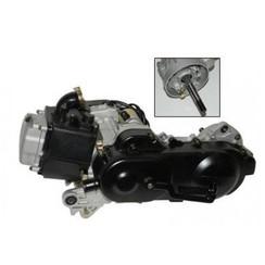 Engine GY6 50cc 10 inch (40 cm) Long rear axle EURO 2/3