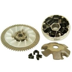 Variokit GY6 50cc +starttandwiel +rondsel + Koelvin