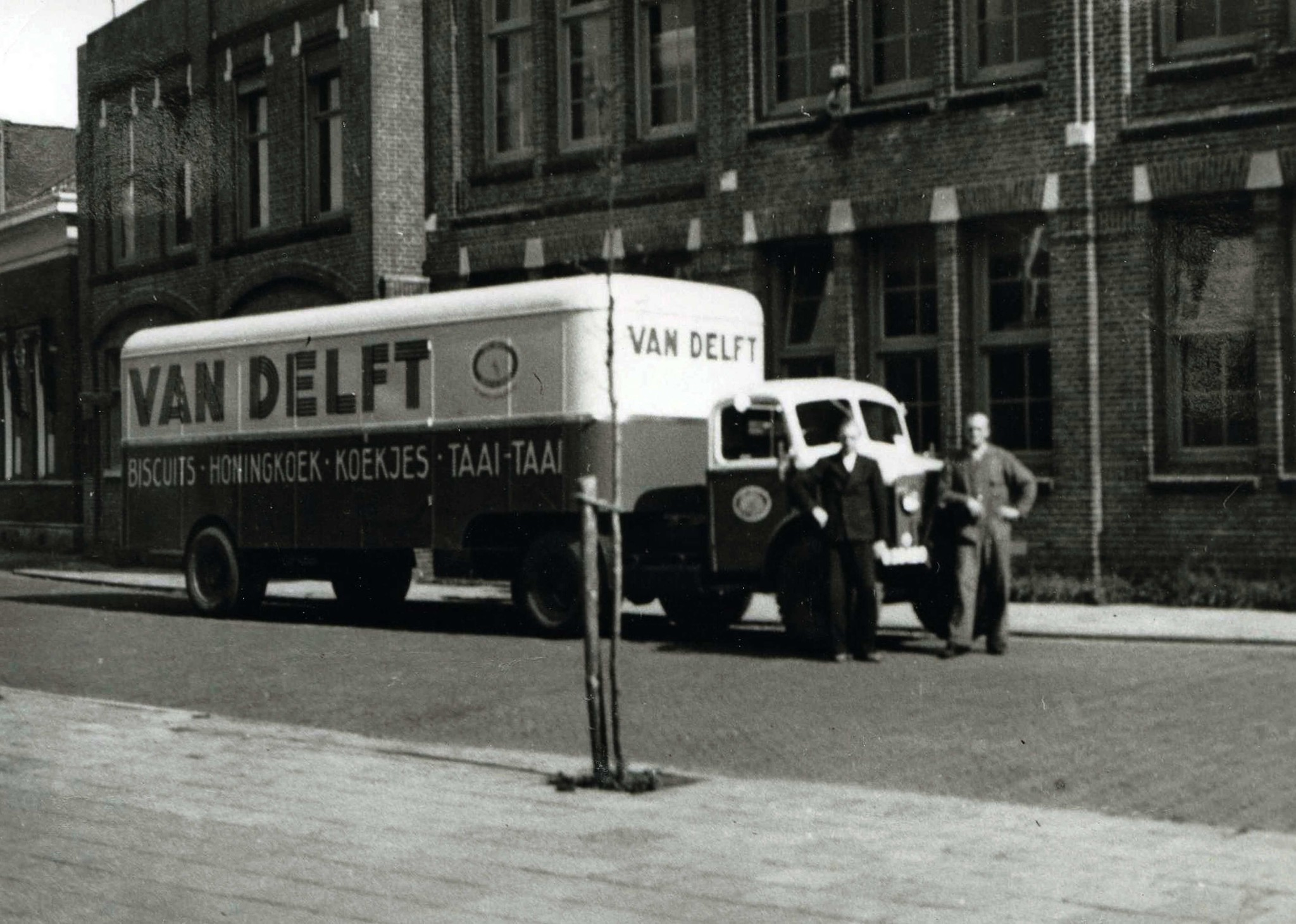History Van Delft de Pepernotenfabriek
