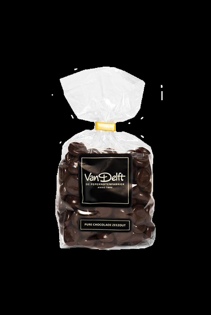 Dunkle Schokolade Meersalz Pepernoten