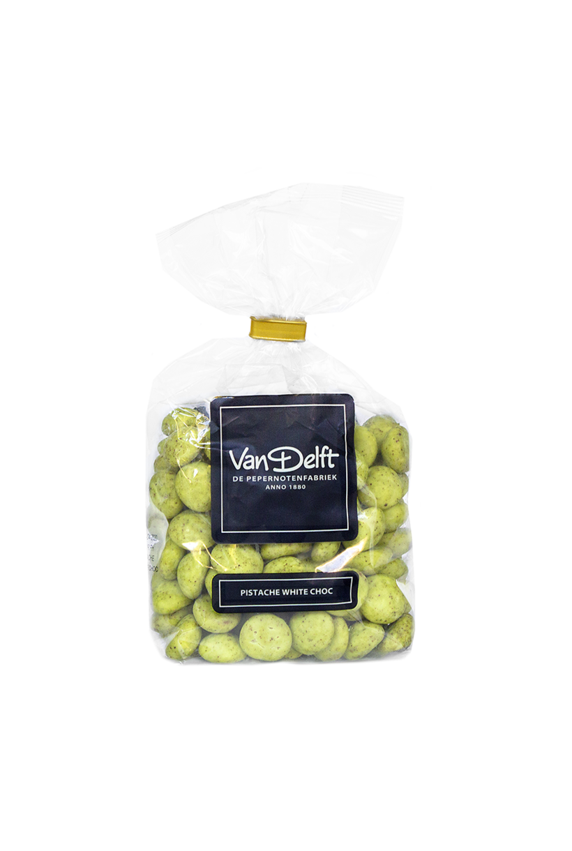 Pistache White Choc Peppernuts