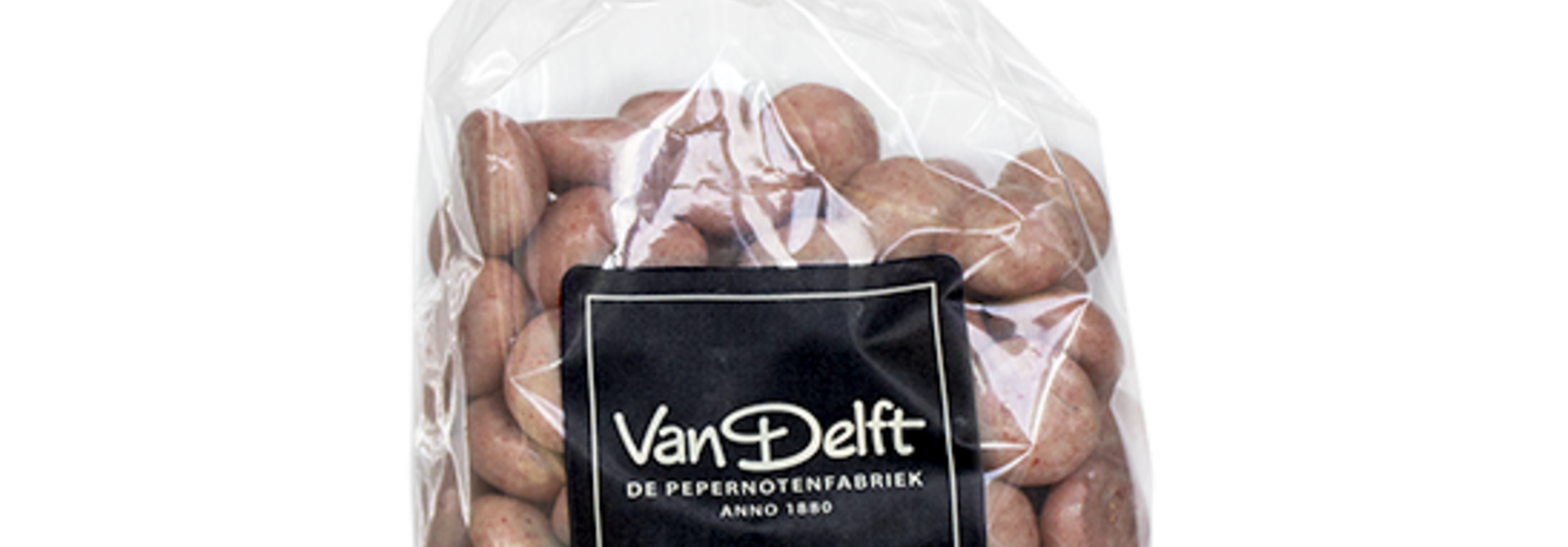 Strawberry White Chocolate Peppernuts