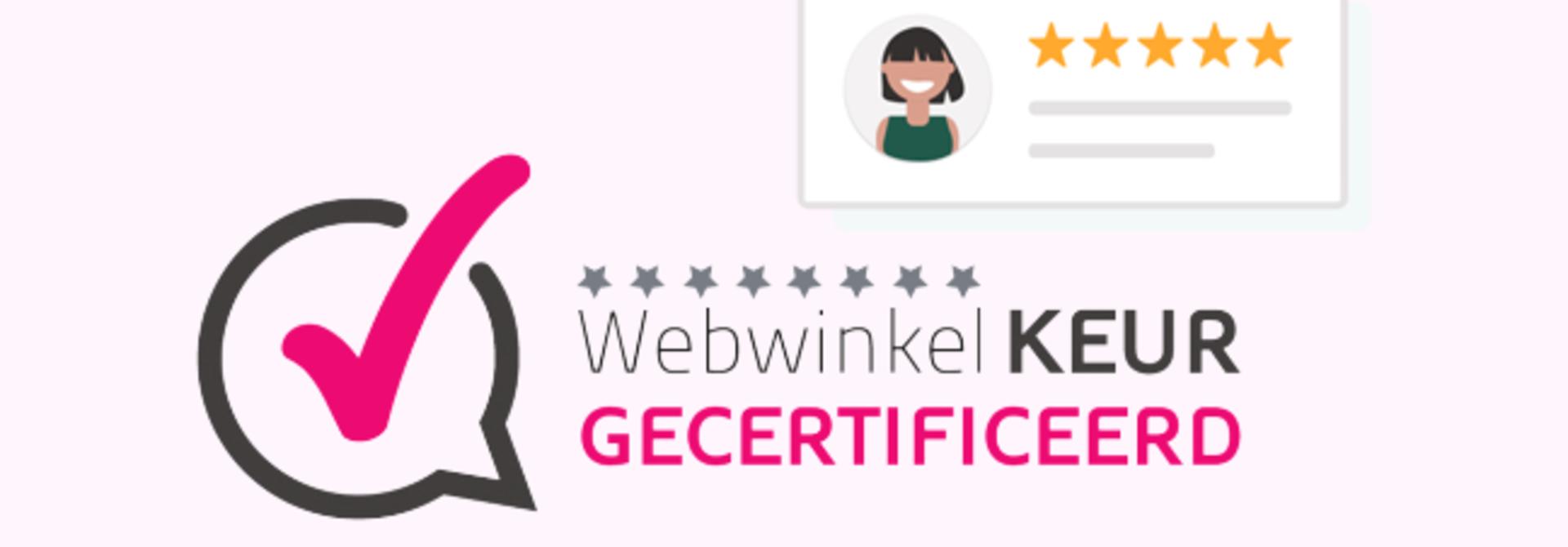Van Delft is aangesloten bij Stichting WebwinkelKeur