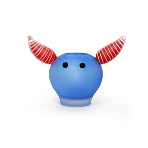 """Vaas """"Viking"""" blauw hoogte ca. 25 cm"""