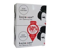 Kojie San Skin Lightening Soap with Kojic Acid 2 x 135 grams