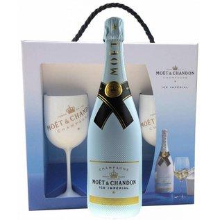 Moet & Chandon Moet & Chandon Ice Imperial geschenkverpakking met 2 glazen