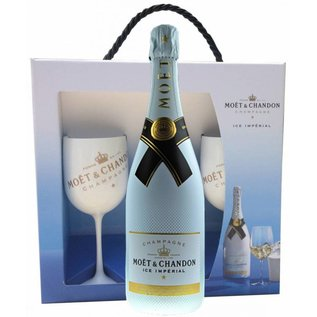 Moet & Chandon Moet & Chandon Ice Imperial giftpack with 2 glasses