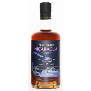 Cane Island Rum Secret Distillery Nicaragua 12 years old Single Estate rum - Cane Island