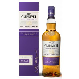 Glenlivet The Glenlivet Captain's Reserve Cognac Cask Finish