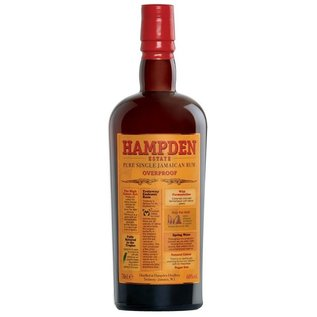 Hampden Estate Distillery - NIEUW- Hampden Estate Pure Single Jamaican Overproof Rum (60%)