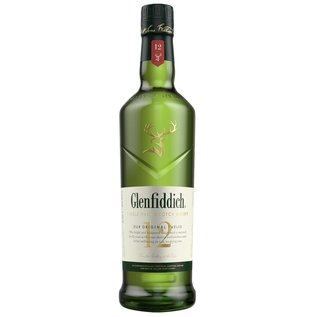 Glenfiddich - NEW LABEL - Glenfiddich 12 Years Old