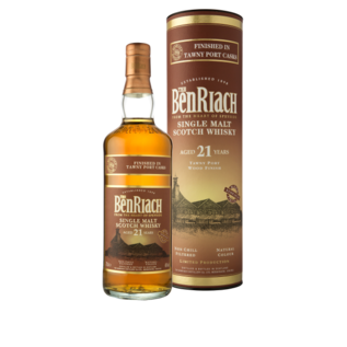 Benriach Benriach 21 years old Tawny Port finish single malt