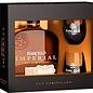 Ron Barcelo Barcelo Imperial Rum met twee glazen