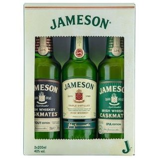 Jameson Jameson Irish Whiskey 3x0.20cl Giftset