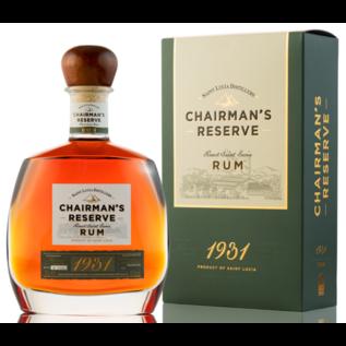 Chairman's Saint Lucia Rum Saint Lucia - Chairmans Reserve '1931'