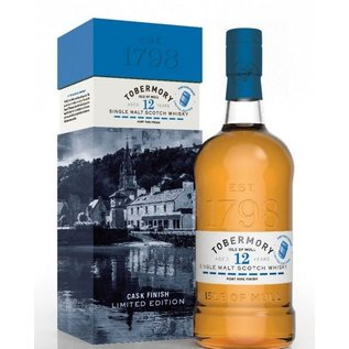 Tobermory Tobermory 12yo Port Pipe cask finished LE (58.6% ABV)