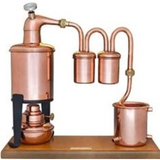 Copper Potstill Rum Type 0.70ltr.