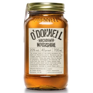 O'Donnell O'Donnell Moonshine Macadamia liqueur