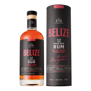 1731 Fine & Rare 1731 Belize 12 years old Single Origin (46% ABV)