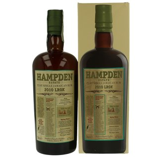 Hampden Hampden Estate Rum 2010 LROK (47%)