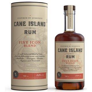 Cane Island Rum Cane Island Five Icon Blend (44%)