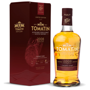 Tomatin Tomatin Cognac Cask Maturation 2008 - 12yo (46% ABV)