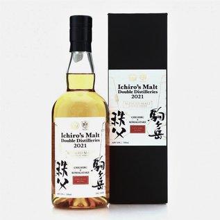 Chichibu Ichiro's Chichibu & Komagatake Double Distilleries 2021 (53.5% ABV)