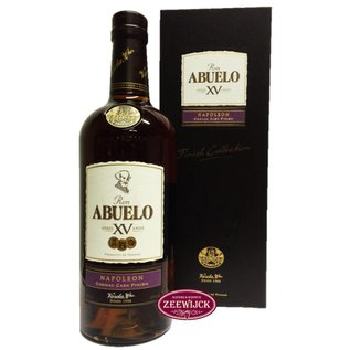 Ron Abuelo Abuelo 15yo Napoleon Cognac Finish rum