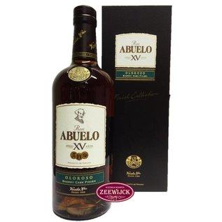 Ron Abuelo Abuelo 15yo Olorosso Sherrry Cask finish rum