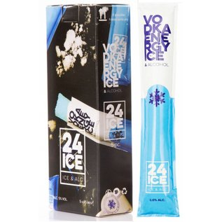 24ICE 24ICE Vodka Energy Cocktail Ice