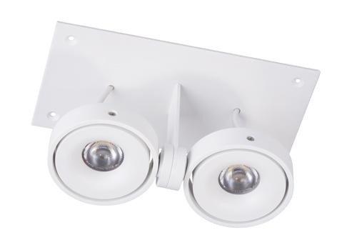 Berla  LED trimless inbouwspot | 1000lm | 2700K | 2x7W | CRI90+ | Wit | incl. dimbare driver