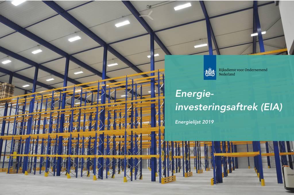 Fiscaal voordeel met de Energie-investeringsaftrek (EIA)
