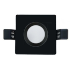 Interlight Frame MR16 90mm vierkant IP20 mat/zwart