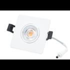 Interlight LED Camini Downlight vierkant kantelbaar CTA dimbaar 8W 36° wit 2.000K
