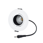 Interlight LED Core Focus Downlight dimbaar 10W 3.000K