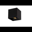 Lucide XIA - Wandlamp Badkamer - LED - 2x1W 3000K - IP54