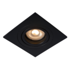 Lucide TUBE - Inbouwspot - GU10 - Vierkant