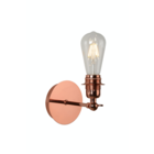 Lucide RETRO - Wandlamp - LED Dimb. - E27 - 1x5W 2700K