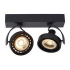 Lucide DORIAN - Plafondspot - LED Dim to warm - GU10 - 2x12W 2200K/3000K