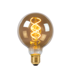 Lucide LED BULB - Filament lamp - Ø 9,5 cm - LED Dimb. - E27 - 1x5W 2200K