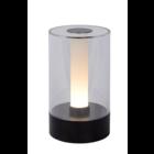 Lucide TRIBUN - Tafellamp - Ø 9 cm - LED Dimb. - 1x3W 3000K - 3 StepDim