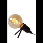 Lucide PUKKI - Tafellamp - LED - E27 - 1x5W 2200K