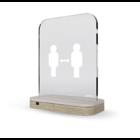 Interlight Aura slimme afstandsmeter 1,5m licht- & geluidssignaal