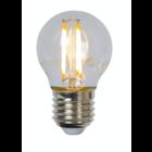 Lucide LED BULB - Filament lamp - Ø 4,5 cm - LED Dimb. - E27 - 1x4W 2700K