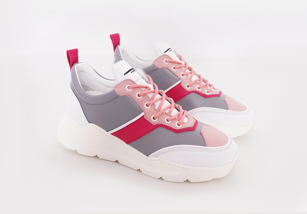 Runner Lowtop Grey Pink