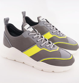 Runner Lowtop Anthracite Yellow