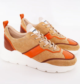 Runner Lowtop  Beige Orange