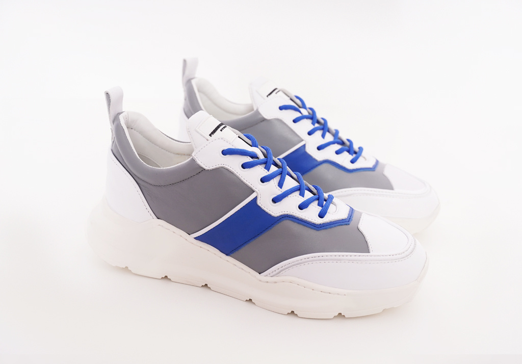 Runner Lowtop Grey Blue