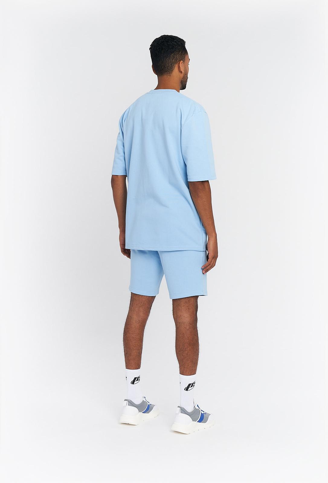 PS Lichtblauw Cirkel T-shirt