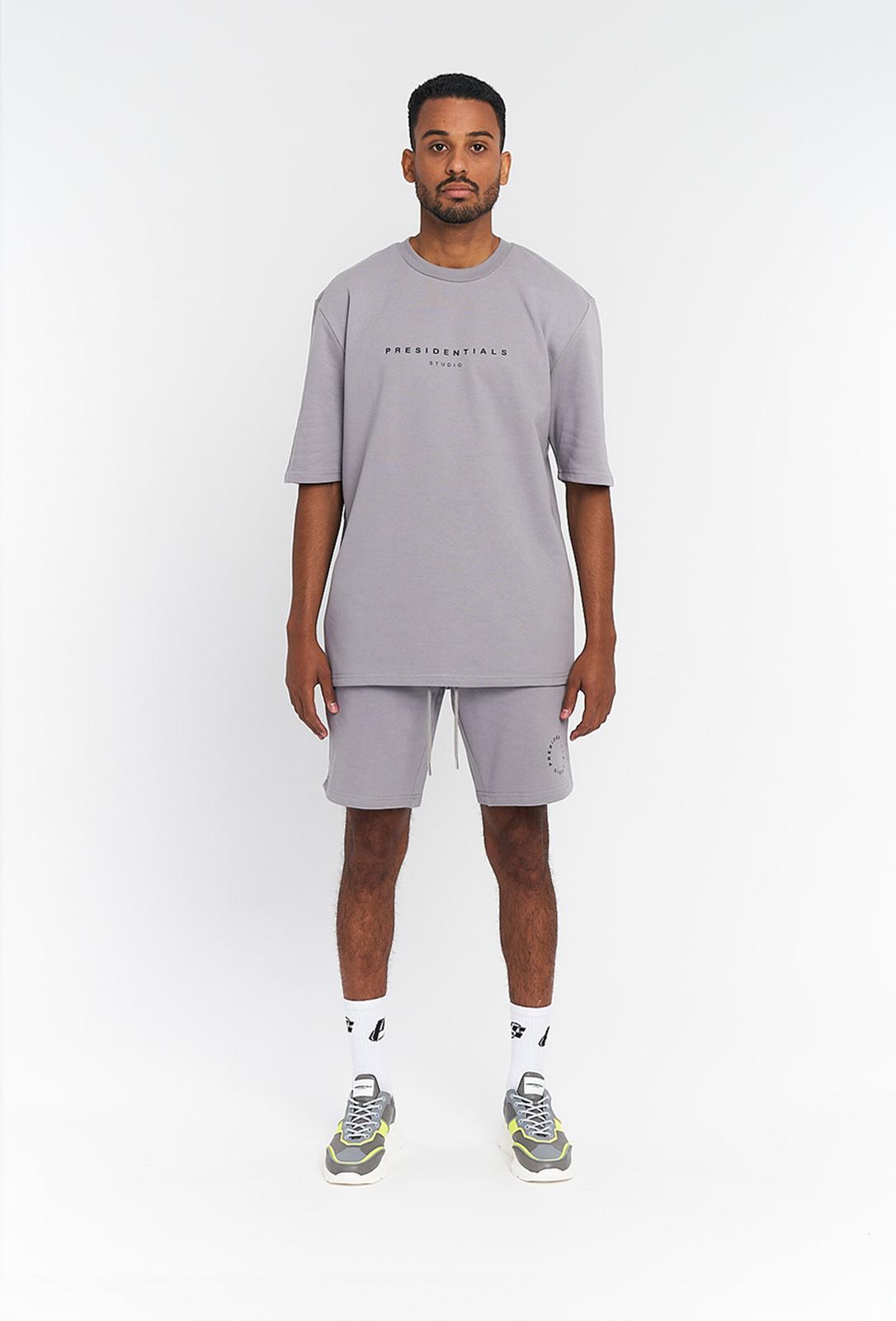 PS Grey  Logo T-shirt